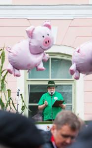 Põllumeeste meeleavaldus Toompeal