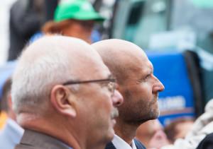 Helir-Valdor Seeder, Põllumeeste meeleavaldus Toompeal