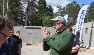 Toomas Hendrik Ilves, Piusa piirivalvekordon